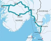 Bilrundtur Til Nogle Af De Smukkeste Steder I Sverige Og Norge